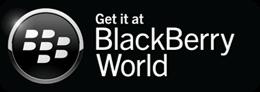 Get it on Blackberry app world